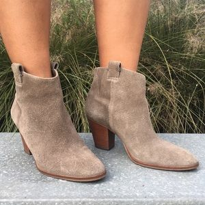 Eaton Suede Ankle Boots